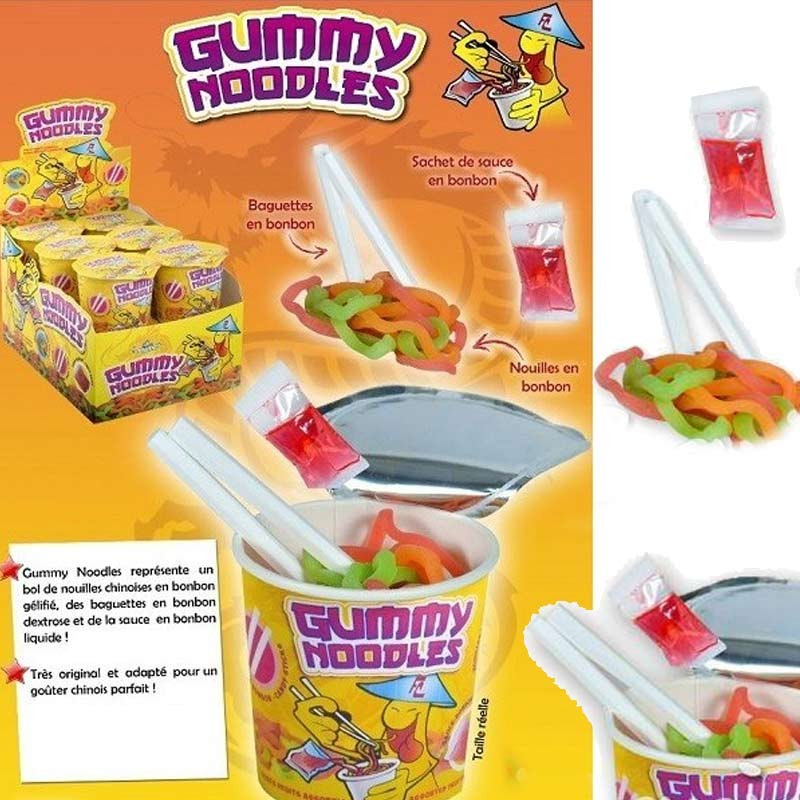 Gummy Noodles bonbon