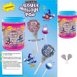 Sucette Boule Magique pop