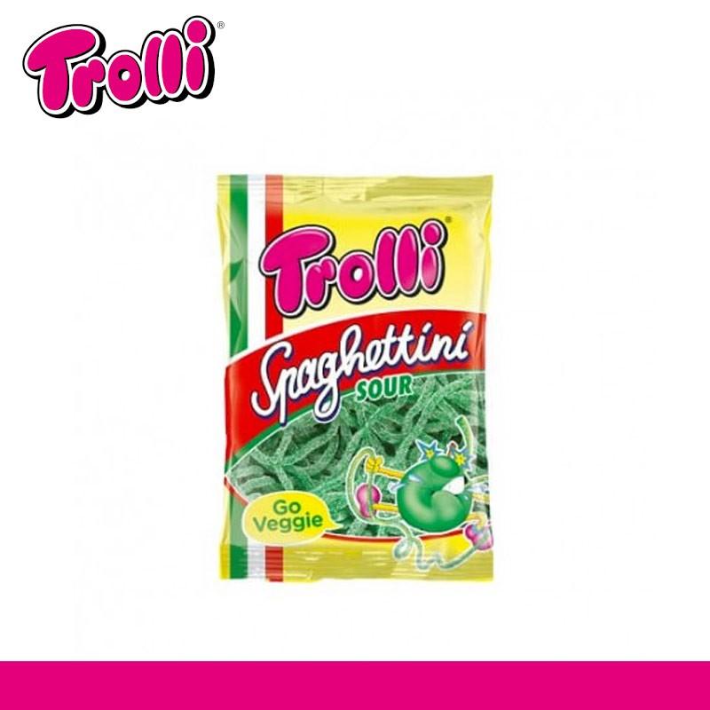 Spagettini pomme Trolli sachet