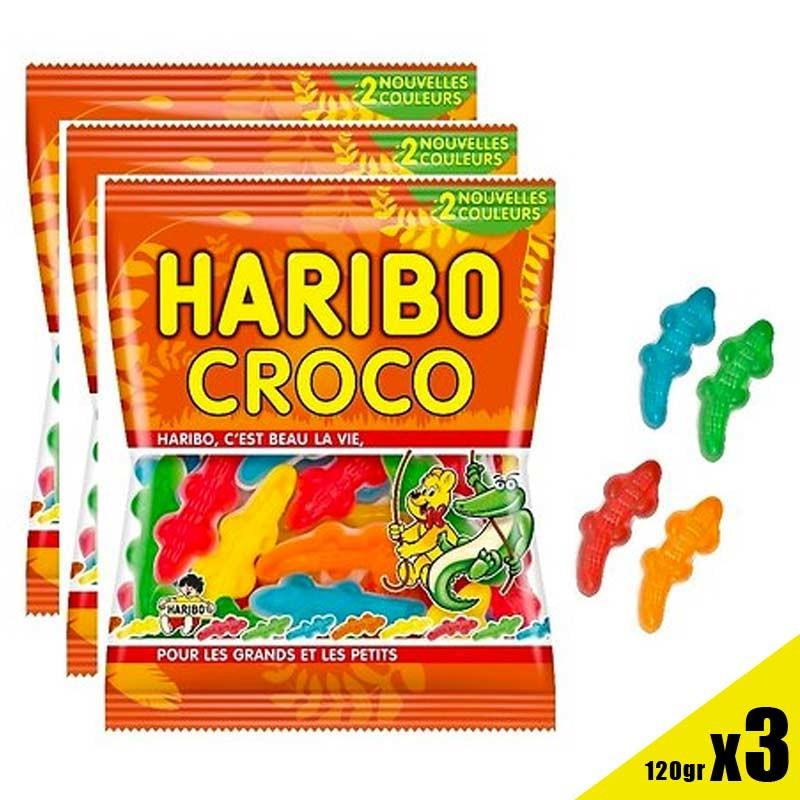 Croco Haribo 120gr, bonbon crocodile Haribo