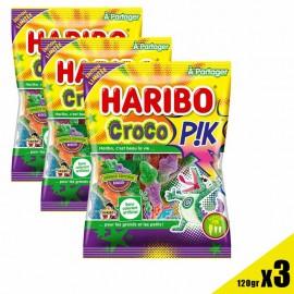 Bonbon Croco Pik Haribo sachet 120gr