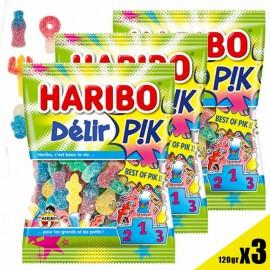 Delir'Pik Haribo sachet 120gr