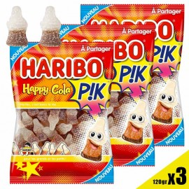 Happy cola pik Haribo...