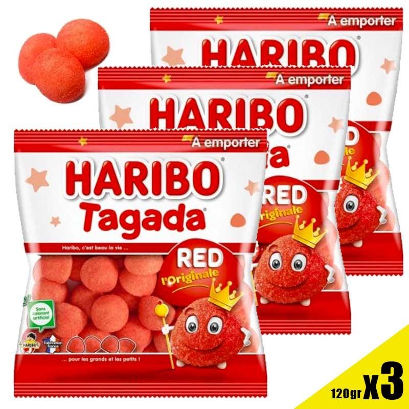Fraise Tagada Haribo sachet 120gr