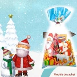 Sachet bonbons de Noël