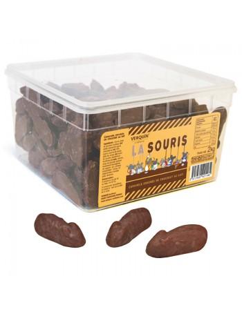 La Souris, le bonbon caramel chocolat verquin