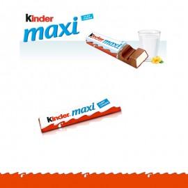 KINDER MAXI Format 2 barres