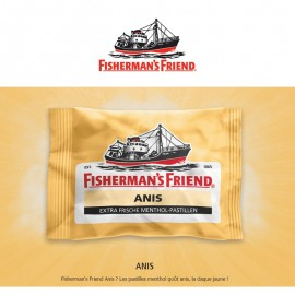 Fisherman Friend Anis, 12 pièces x 25gr