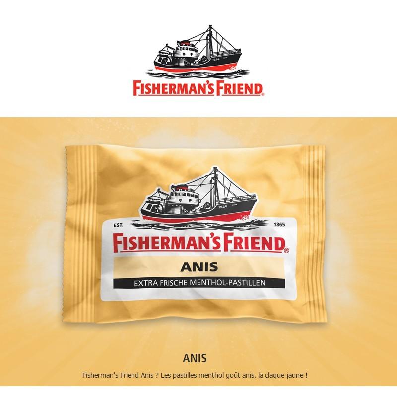 Fisherman Friend Anis, 12 pièces x 25gr