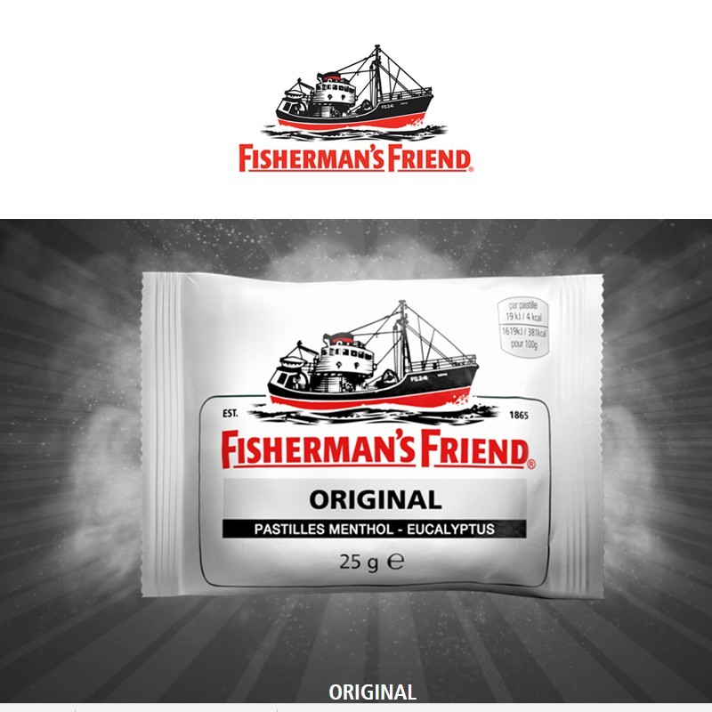 Fisherman Friend Original, 12 pièces x 25gr