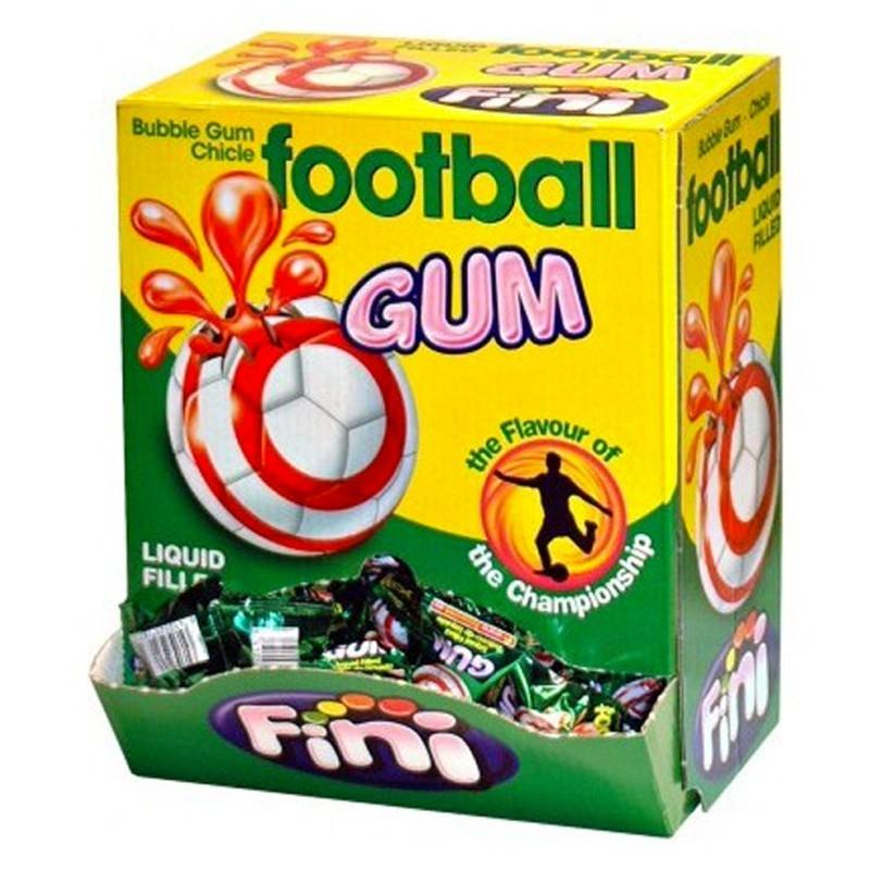 Football Gum Fini, 100 pièces