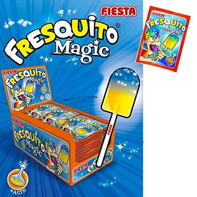 Fresquito Magic sucette poudre, 40 pièces
