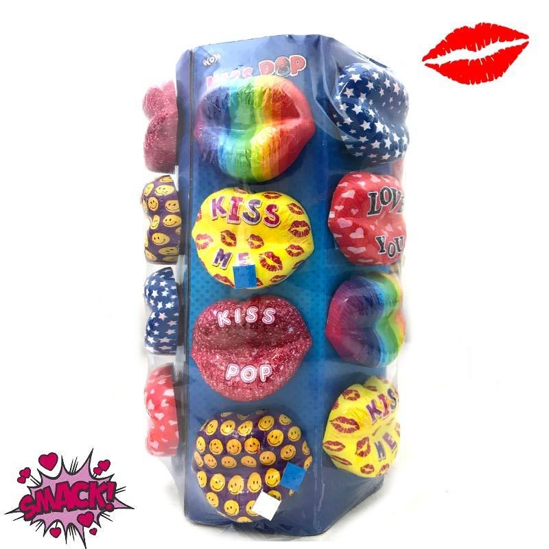 Kiss Pop Crazy Lips, 3 pièces