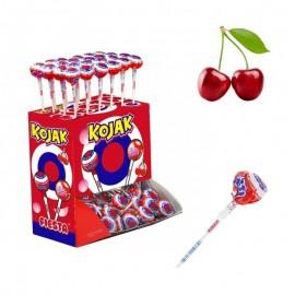 Kojak - Sucette Bubble Gum Cerise, sachet vrac de 50 pièces