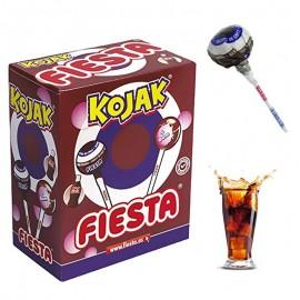 Kojak - Sucette Bubble Gum Cola, sachet vrac de 50 pièces