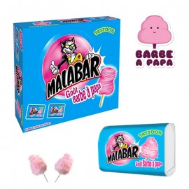 Malabar Barbe à Papa, 50 pièces