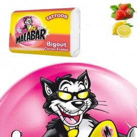 Malabar Bigoût Citron Fraise, 50 pièces