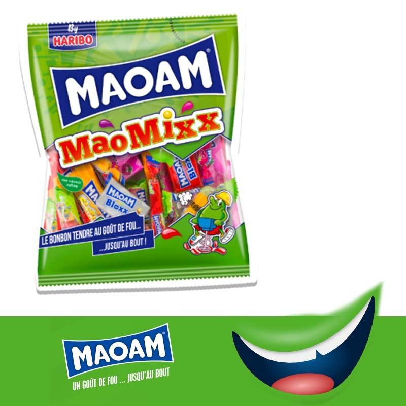Maoam MaoMixx Haribo 160gr, 1 pièces