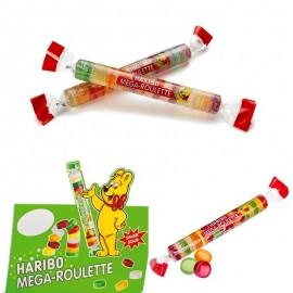 Méga roulette acidulée Haribo,20 pièces