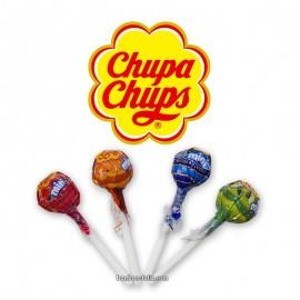 Mini Chupa Chups assorties, 25 pièce