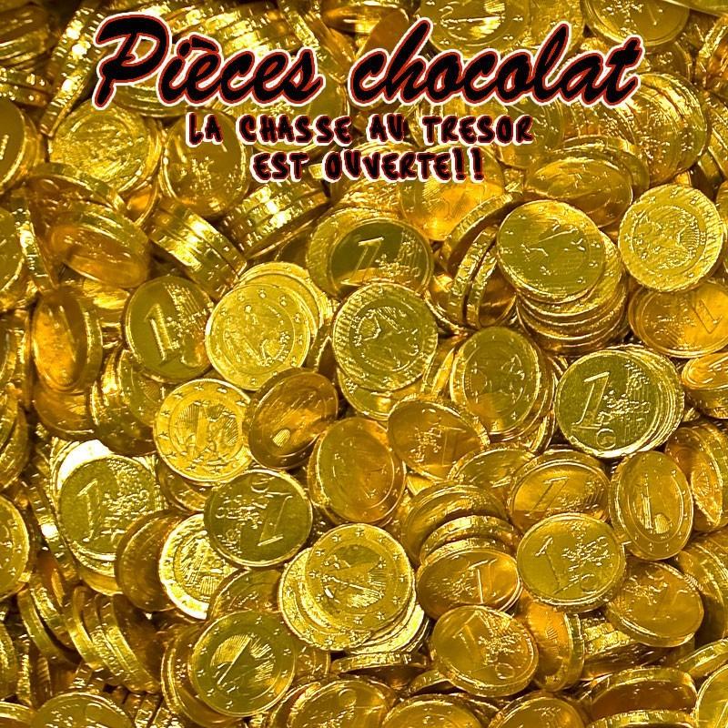 Pièces en chocolat piece monnaie chocolat, 800 gr