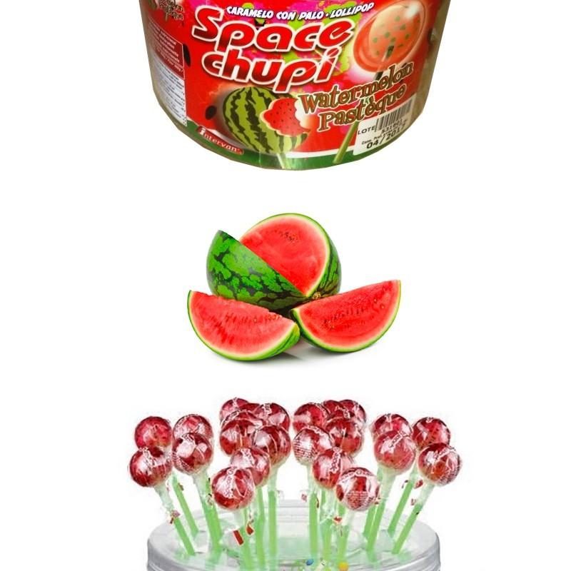Space Chupi à la Pastèque, 40 pièces