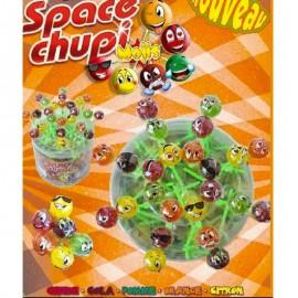 Space Chupi Sucette Mojis Emoticones, 40 pièces