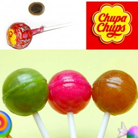 Sucette Chupa Chups XXL avec chewing-gum, 30 pièces
