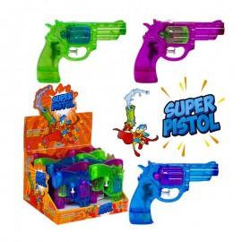 Super Pistol pistolet àeau et bonbons, 2 pièces