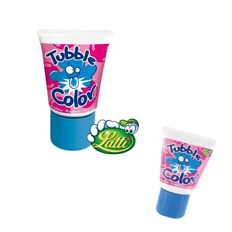 Tubble gum Color Framboise, 1 pièce