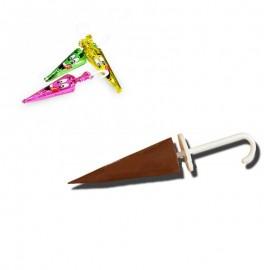 Les petits parapluies en chocolat, 10 pièces