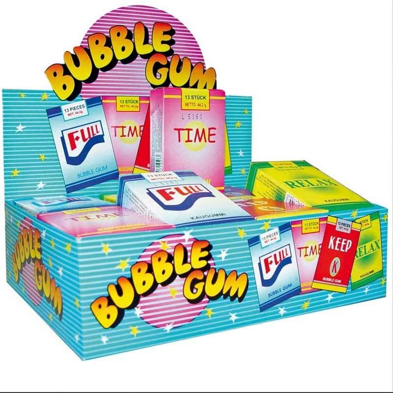 Etui bubble gum, 24 pièces
