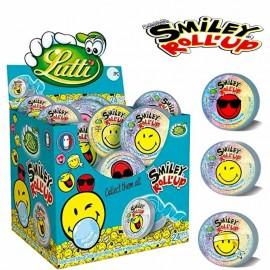 Roll Up Smiley, boîte de 24 pièces