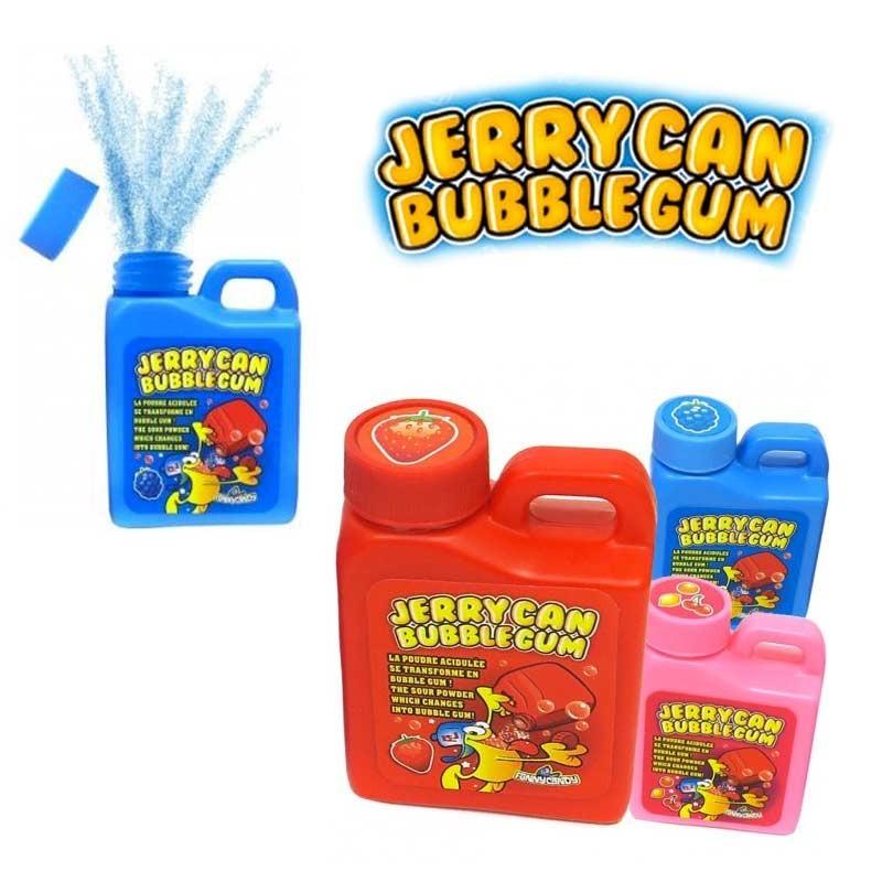 Jerrycan bubble gum poudre Brabo, 3 pièces
