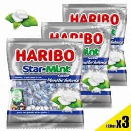 Starmint Haribo sachet de 100gr x 3