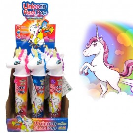 Unicorn flash pop, sucette licorne, 12 pièces