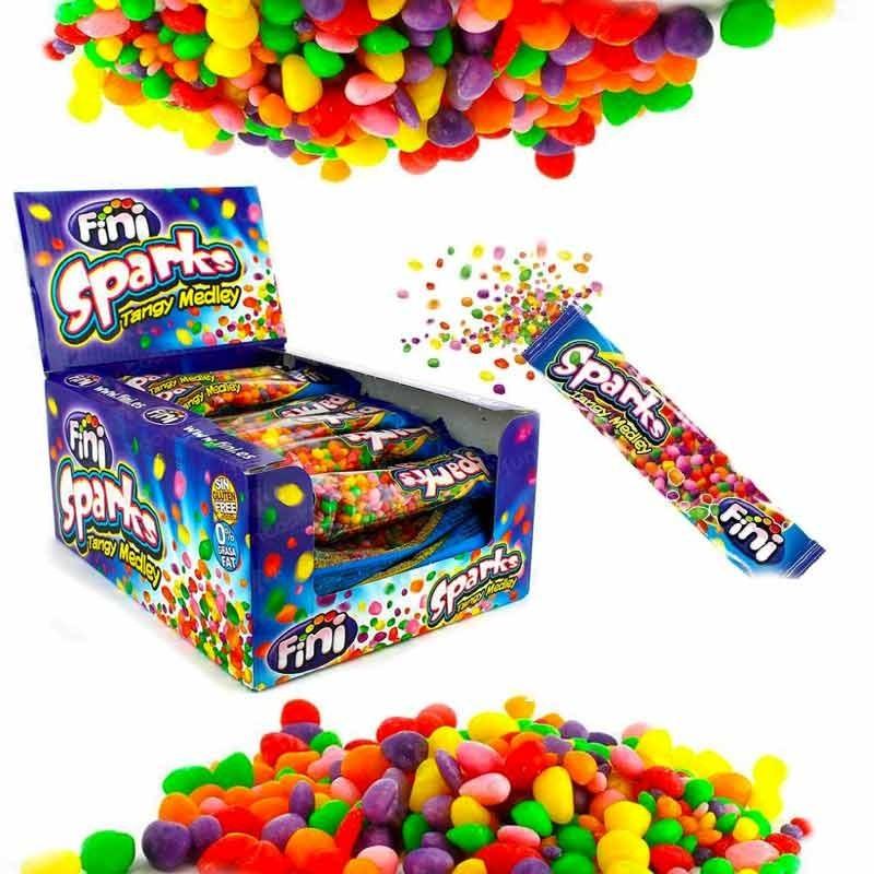 Bonbons billes acidulées Sparks, 24 pièces