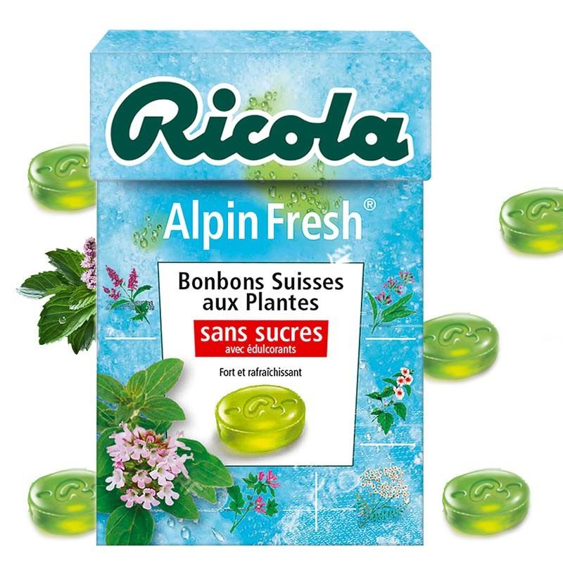 Ricola Alpin Fresh, 10 pièces