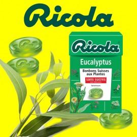 Ricola Eucalyptus, 10 pièces