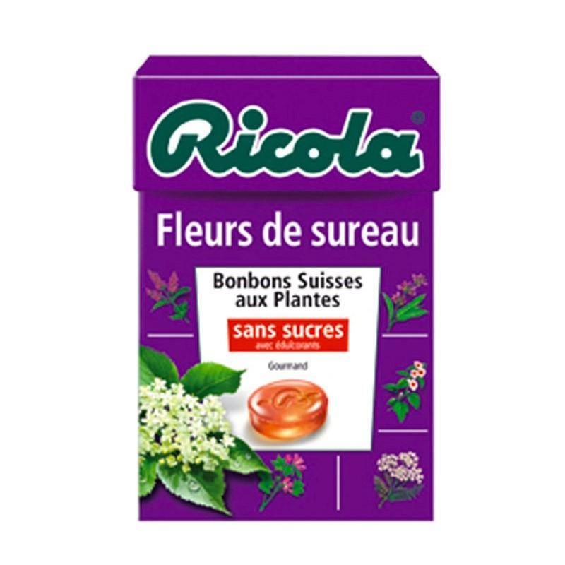 Ricola Fleurs de Sureau, 10 pièces