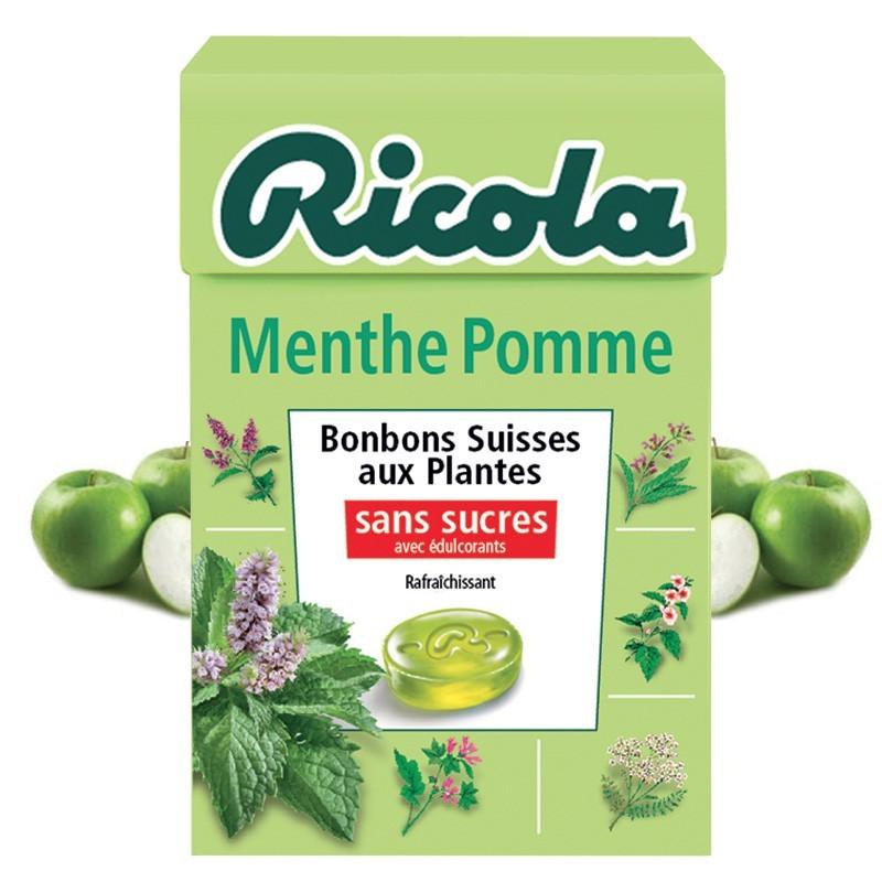 Ricola Menthe Pomme, 10 pièces