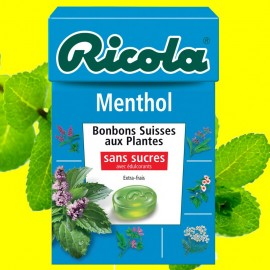 Ricola Menthol, 10 pièces