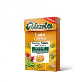Ricola Plantes Caramel, 10 pièces