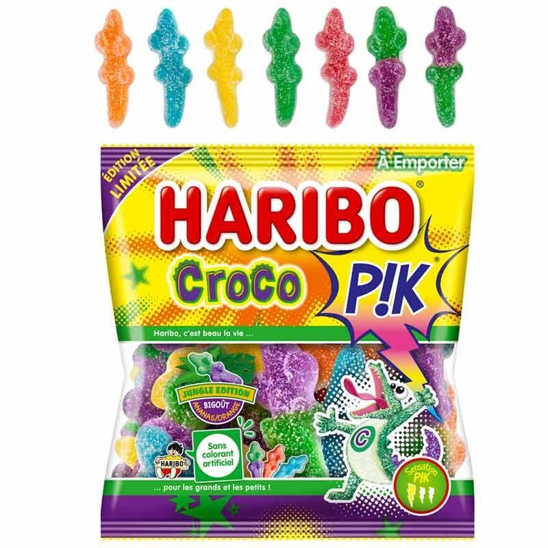 Bonbon Croco Pik Haribo 120gr x30
