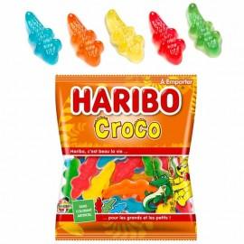 Croco Haribo 120gr x 30, bonbon crocodile Haribo