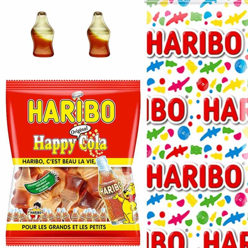 Happy cola bonbon cola Haribo 120gr x30