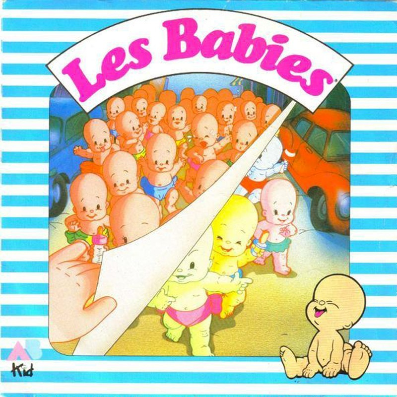 LES BABIES bébé en plastique àcollectionner