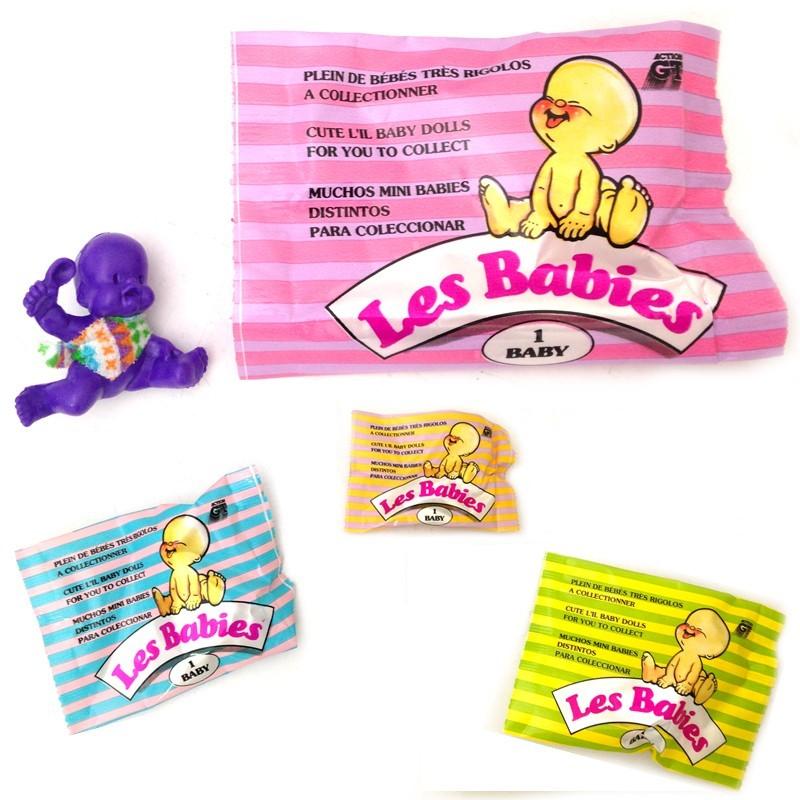 LES BABIES bébé en plastique à collectionner