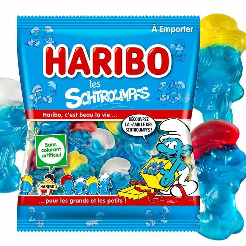 Les Schtroumpfs Haribo 120gr x30