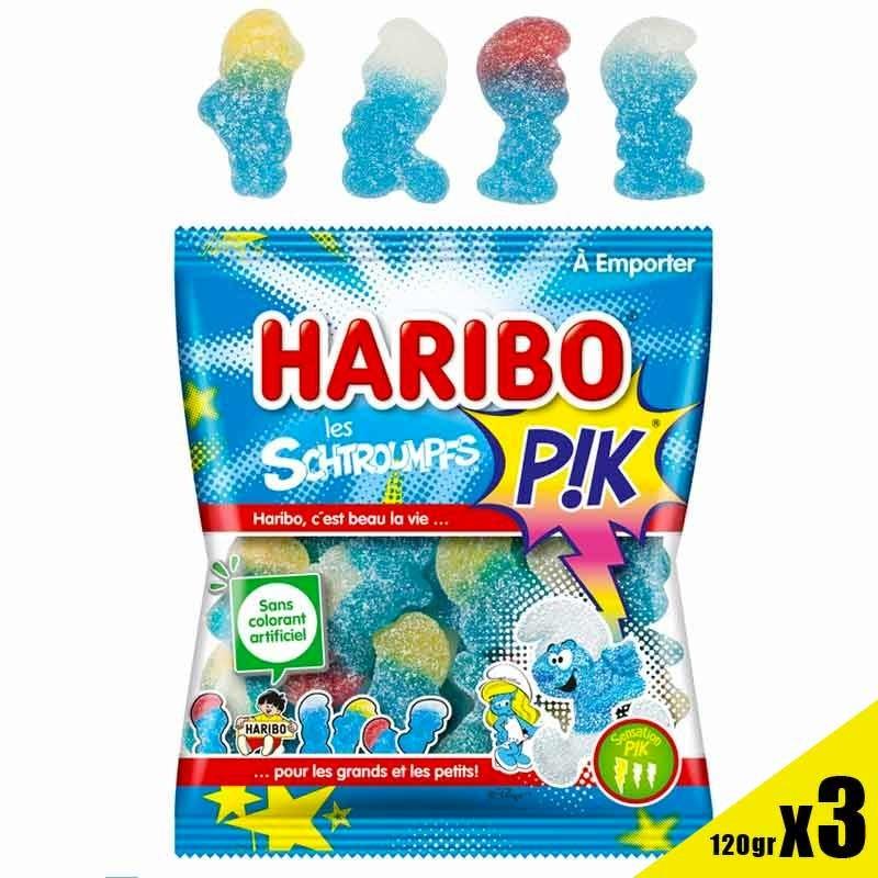 Schtroumpfs Pik Haribo 120 gr